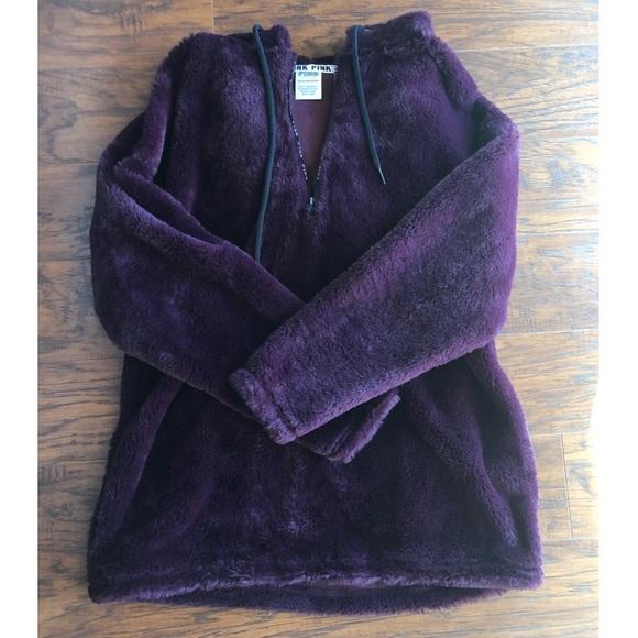 PINK Jackets & Blazers - Purple Plush PINK Hoodie